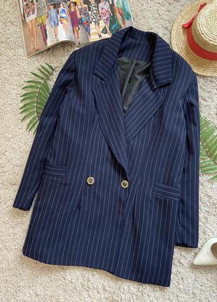 Распродажа!!! актуальный двубортный пиджак жакет блейзер №31