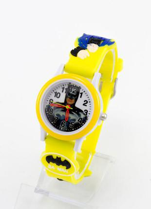 Часы желтые бэтмен