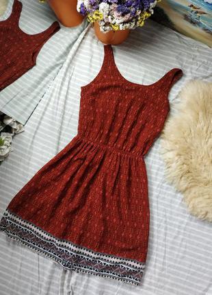 Легкое платье с красивой спинкой💖 34р