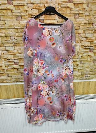 Платье софт лето