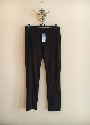 Батал большой размер тёмные легинсы лосины брюки брючки зауженные штаны штаники новые