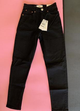 Жіночі джинси, чорні джинси трендові, маленькі джинси, черные маленькие джинсы, фирменные джинсы.