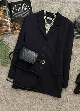 Распродажа!!! актуальный винтажный удлиненный базовый пиджак №13