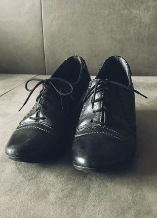 Шкіряні жіночі туфлі bioeco by arka