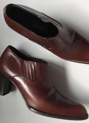 Туфли полуботинки ботильоны италия bally
