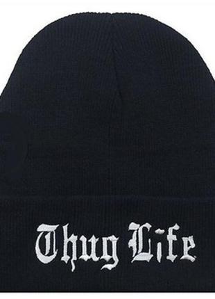 Шапка thug life нба хип хоп стиль