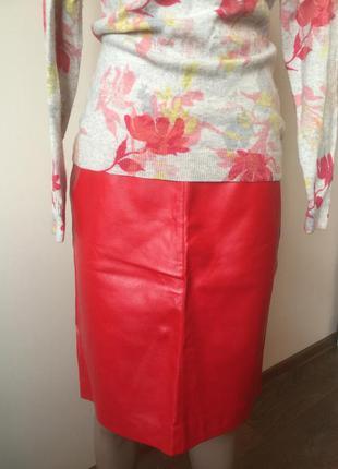 Юбка - карандаш из экокожи, брэнда vasyawear