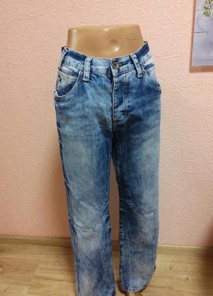 Красивые джинсы унисекс сstoblished brand 100% хлопок акция 1+1 =3