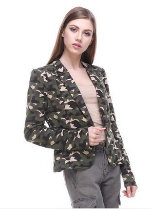 Трикотажный пиджак  yes miss