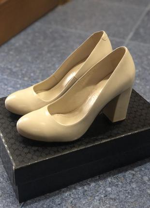 Туфли кожаные grand style