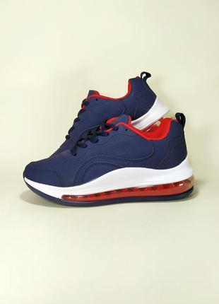 Спортивные кроссовки на платформе и на воздушной подошве.