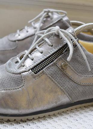 Кожаные туфли мокасины кеды кроссовки wolky р.40 26 см