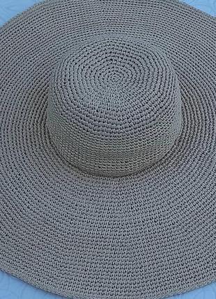 Шляпа з великими полями, огого шляпа, шляпа із рафії