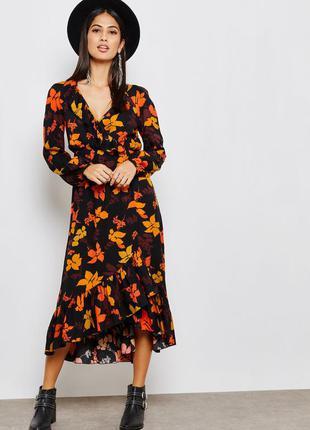Яркое стильное платье mango испания