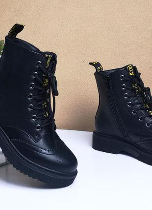 Деми ботинки для девочки