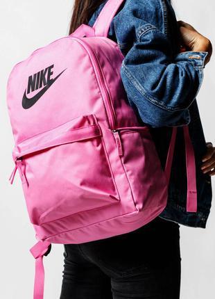 Рюкзак nike heritage оригінал наплічник рожевий