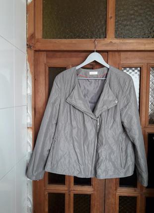 Актуальная куртка косуха ветровка серая bonita германия