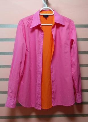 Двухцветная рубашка gant