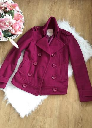 Пальто полупальто укороченное пальто bershka куртка м