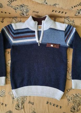 Красивый,теплый свитерок для вашего школьника!