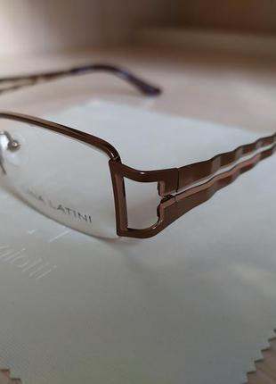Интересная стильная женская оправа очки окуляри lina latini