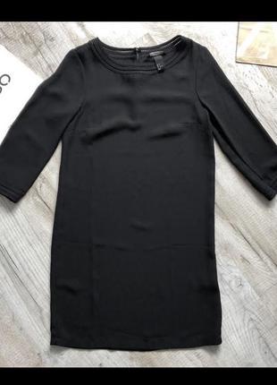Платье чёрное классическое