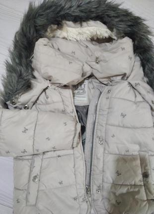 Зимняя куртка (еврозима) next для девочки