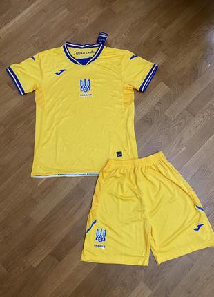 Дитяча футбольна форма жовта збірної україни 2021р