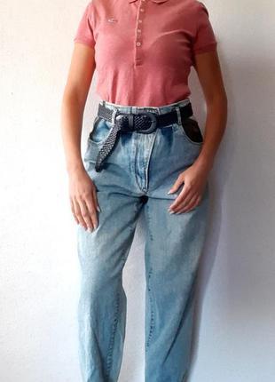 Стильные винтажные джинсы высокая посадка ken marshal