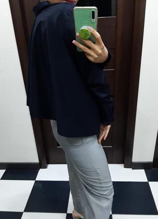Ассиметричная котоновая рубашка оверсайз cos