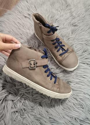 Soft line, високі кеди демі.  черевики ботинки высокие кеды