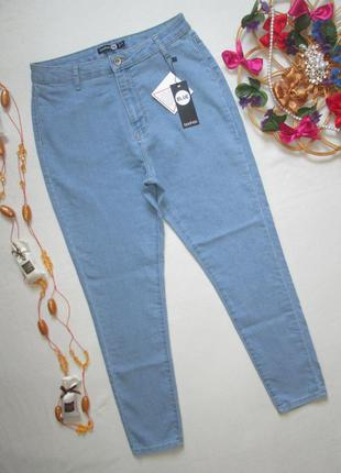 Суперовые стрейчевые джинсы высокая посадка boohoo 🍒👖 🍒