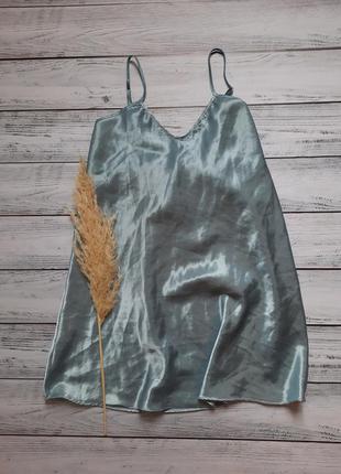 Шелковистая пижама для сна дома ночнушка платье
