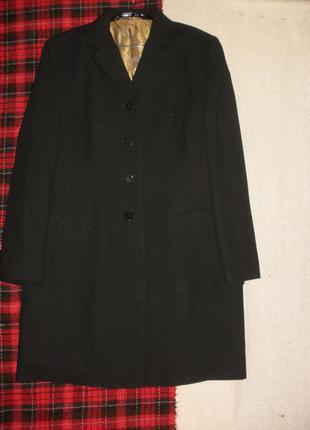 Длинный жакет пиджак гладкой костюмной шерсти