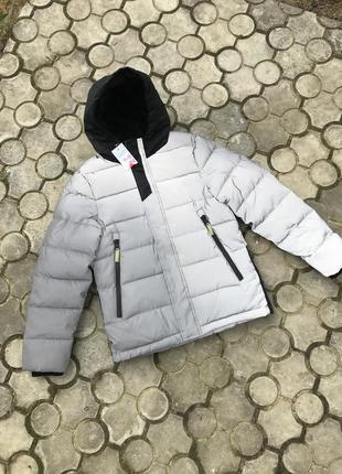 Теплая куртка зима