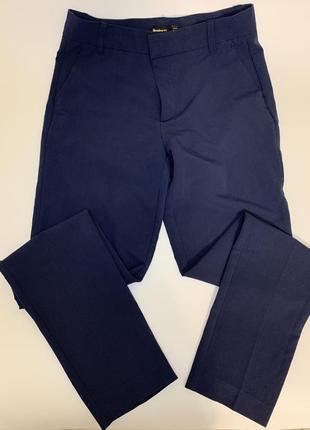 Классические синие штаны stradivarius