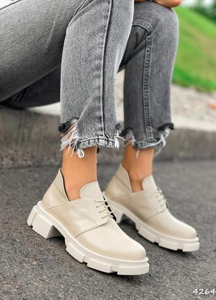 Туфлі з натуральної шкіри