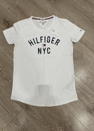 Новая хлопковая футболка tommy hilfiger оригинал
