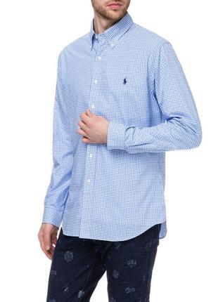 Стильная рубашка polo ralph lauren slim