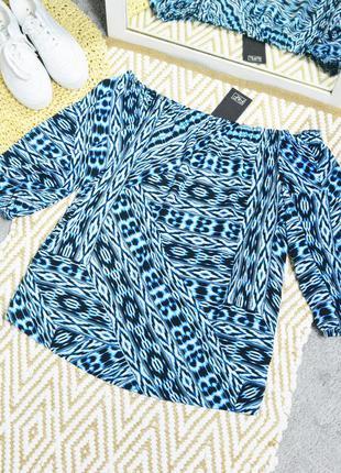 Новая блуза с принтом f&f