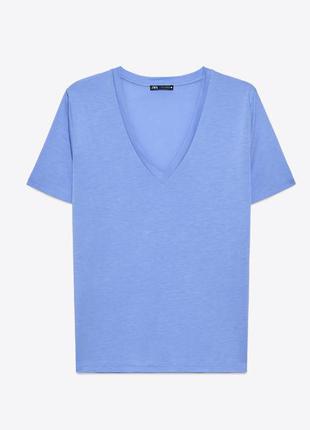 Футболка блуза zara m-l