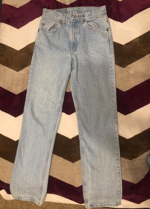 Прямые джинсы levi's