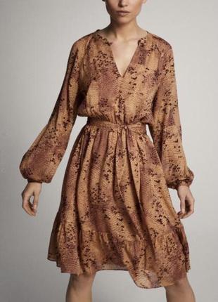 Красивое платье massimo dutti