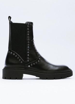 Ботинки zara нова колекція