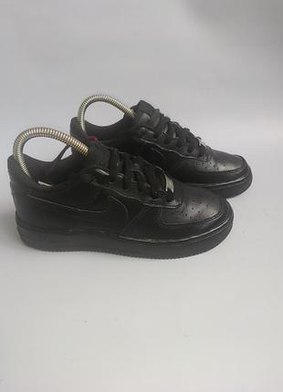 Шкіряні кросівки nike air force