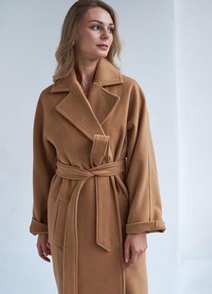 Базовое пальто кемл