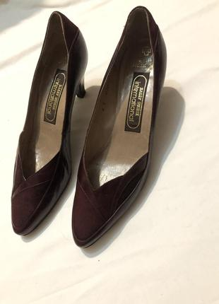 Туфли bally 39p