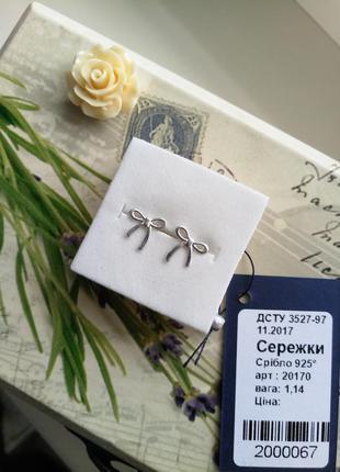 Классные серьги гвоздики серебро 925 пробы