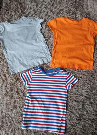 Три футболки футболочки хб