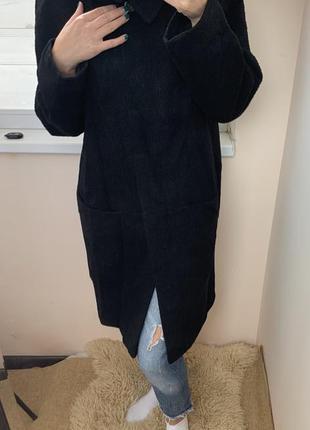 Натуральное пальто шерсть/ альпака/мохер